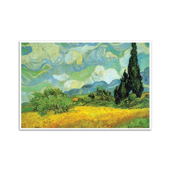 Cypresses Fine Art Masters Matte Poster 24x16