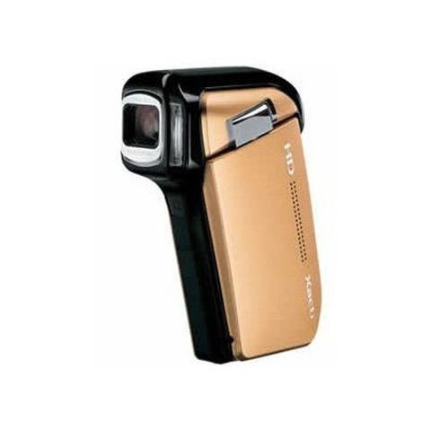 Sanyo Xacti VPC-HD800 5x Optical Zoom High Definition Digital Media Camcorder (Gold) (International Model)