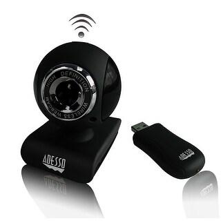 Adesso Cybertrackv10 2.4 Ghz Wireless 1.3 Megapixels Webcam