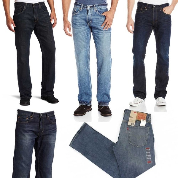 3545c072303dca Shop Levi's Men's 559 Relaxed Straight Fit Jeans - Free Shipping On Orders  Over $45 - Overstock - 28278871