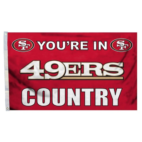 Shop San Francisco 49ers Flag 3x5 Country