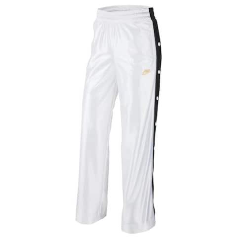Nike Womens Pants Fitness Running - Black/White - M