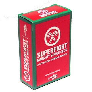 SUPERFIGHT: The Naughty & Nice Deck - multi