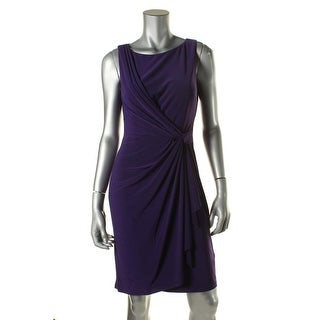 American Living Womens Pleated Sleeveless Wear to Work Dress