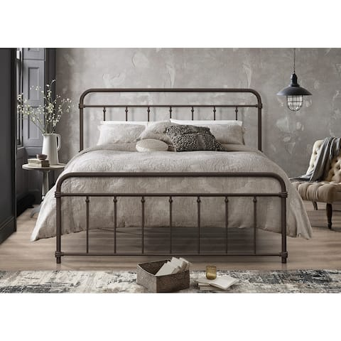Nana Metal Platform Bed