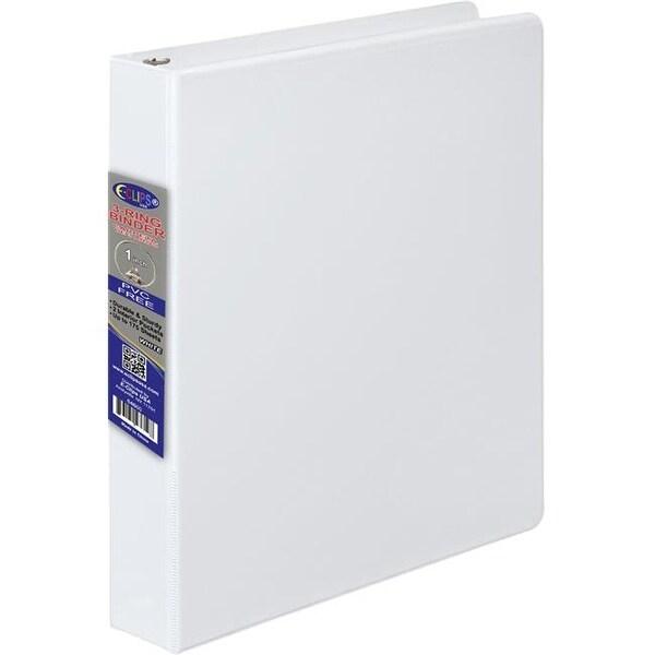 shop ddi 1981548 1 inch 3 ring vinyl binder white case of 24