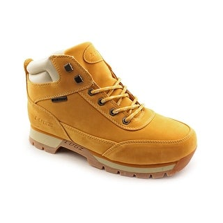 Lugz Scavenger Men  Round Toe Suede Tan Boot