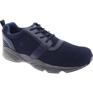 Propet Men's Stability X Walking Sneaker Navy Mesh