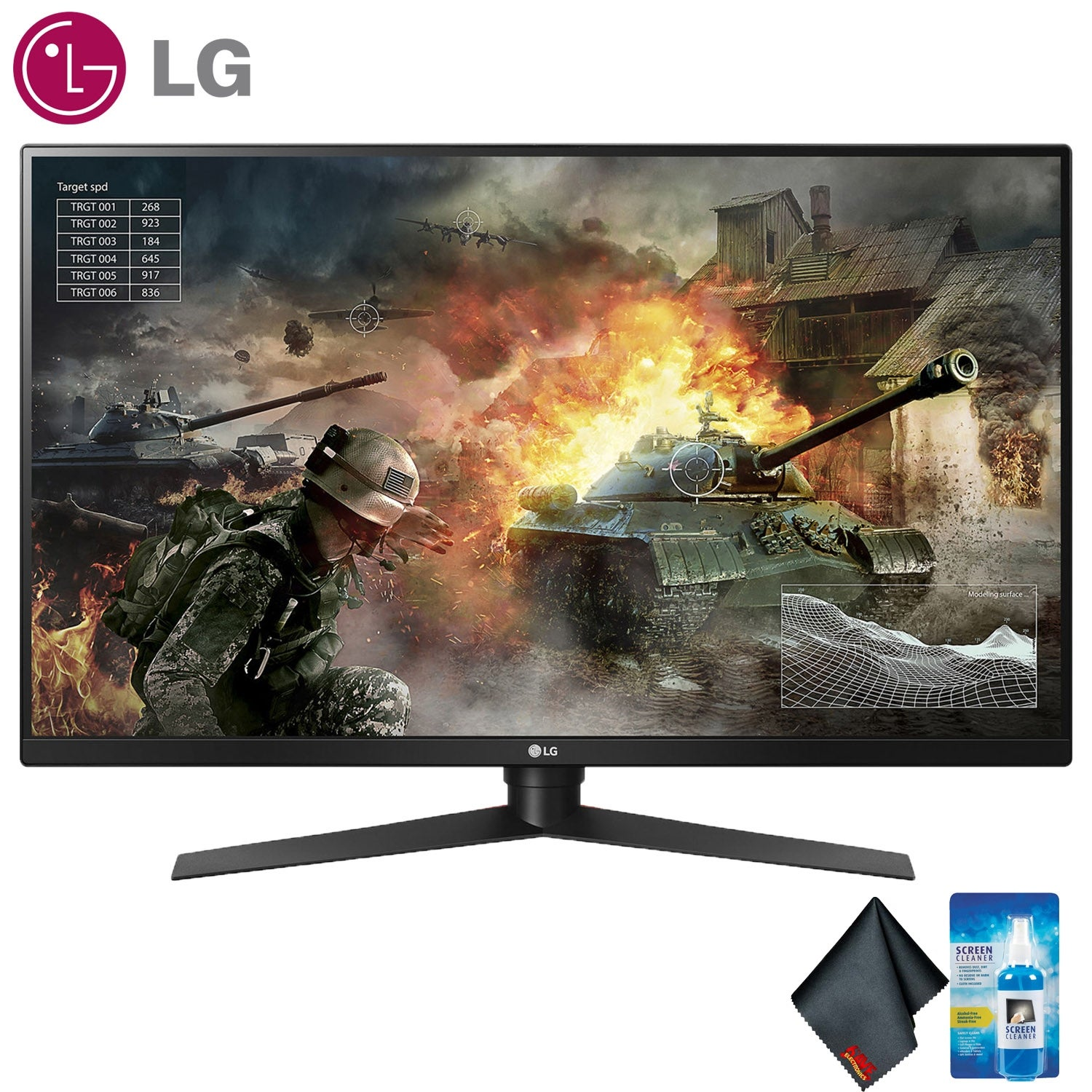 "LG 31.5"""" 16:9 144 Hz G-Sync LCD Gaming Monitor Bundle (Standard Bundle)"