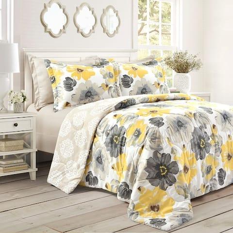 Lush Decor Leah 6 Piece Comforter Set