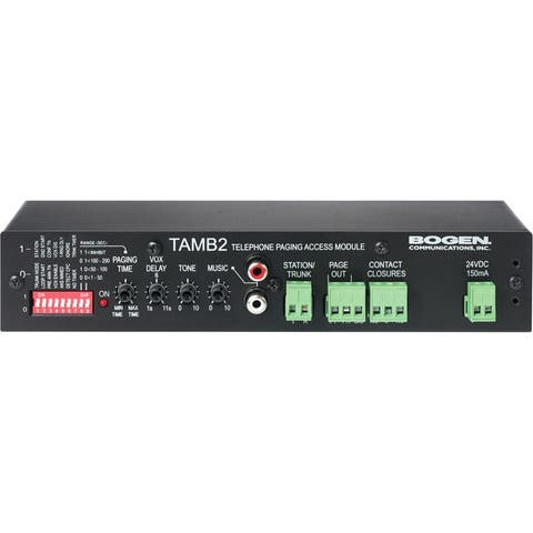 Bogen tamb2 telephone access module prs2403 needed