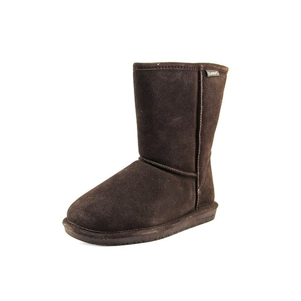 Bearpaw Emma Short Women Round Toe Suede Brown Winter Boot