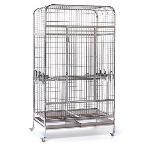 Prevue Pet Products Imperial Extra Large Stainless Bird Cage 3457