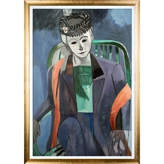 Henri Matisse 'Portrait of the Artist's Wife' Hand Painted Oil Reproduction