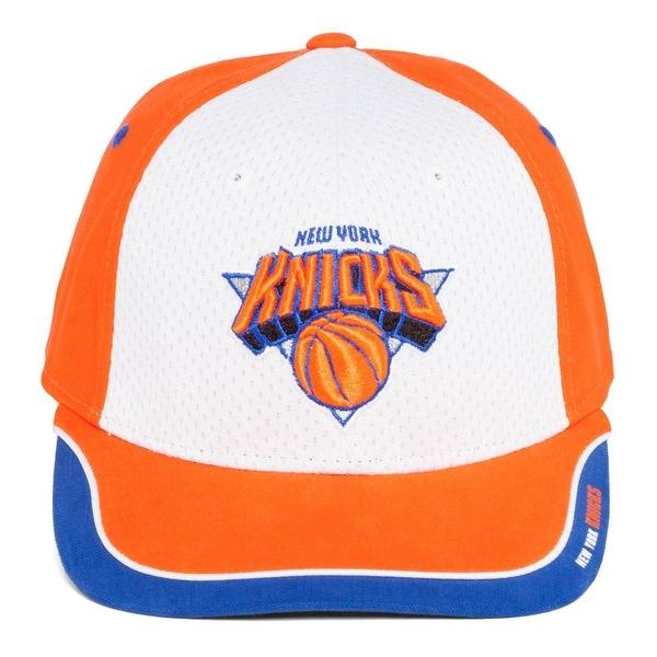 77447557b36 Shop Vintage Snapback New York Knicks Hat-Reebok Orange White - Free ...
