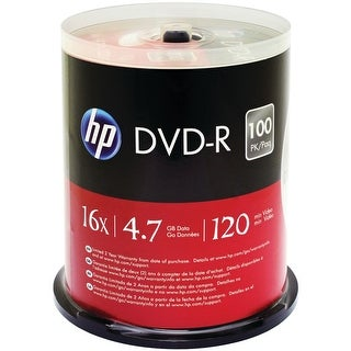 Hp 4.7gb Dvd-rs 100-ct Spindle
