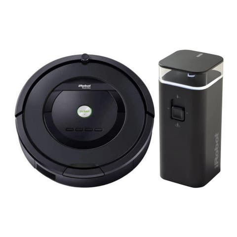 iRobot Roomba 805 Cleaning Vacuum Robot (Renewed) with Wall Barrier