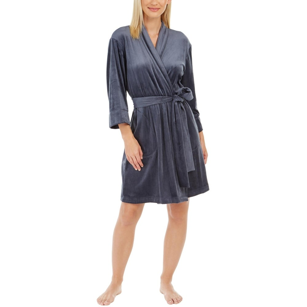 Sesoire Womens Wrap Robe Sleepwear Lounge
