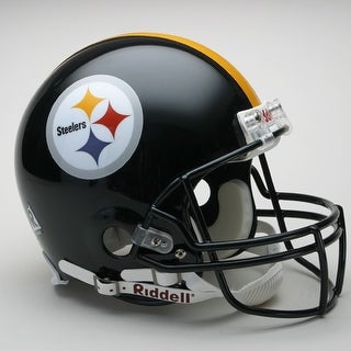 Pittsburgh Steelers Riddell Full Size Authentic Proline Football Helmet