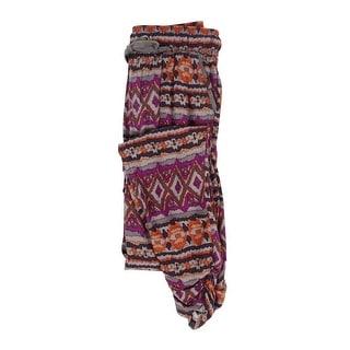 Rewash Juniors' Elastic Waist Pants