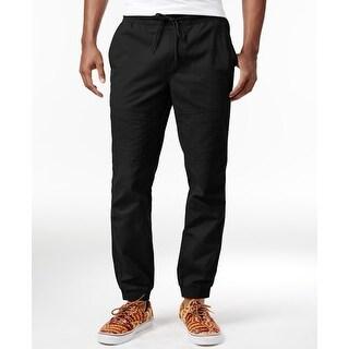 American Rag Solid Black Mens Size XLT Big & Tall Jogger Pants