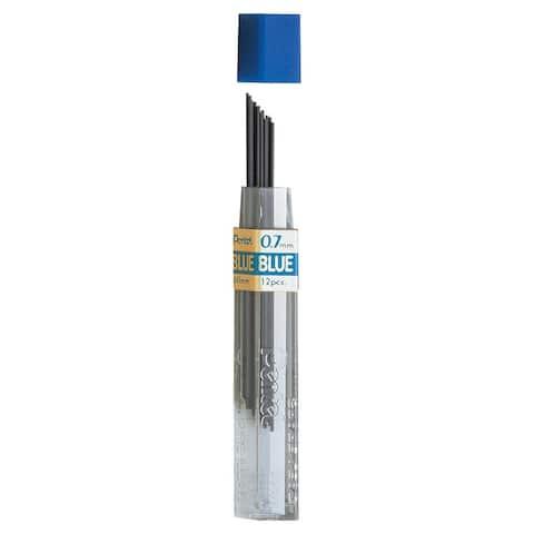 Pentel (24 ea) refill lead blue 0.7mm ppb7bn