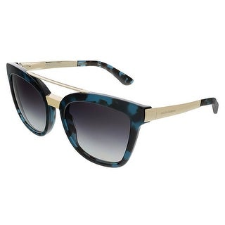 Dolce&Gabbana DG4269 28878G Cube Petrol Square Sunglasses