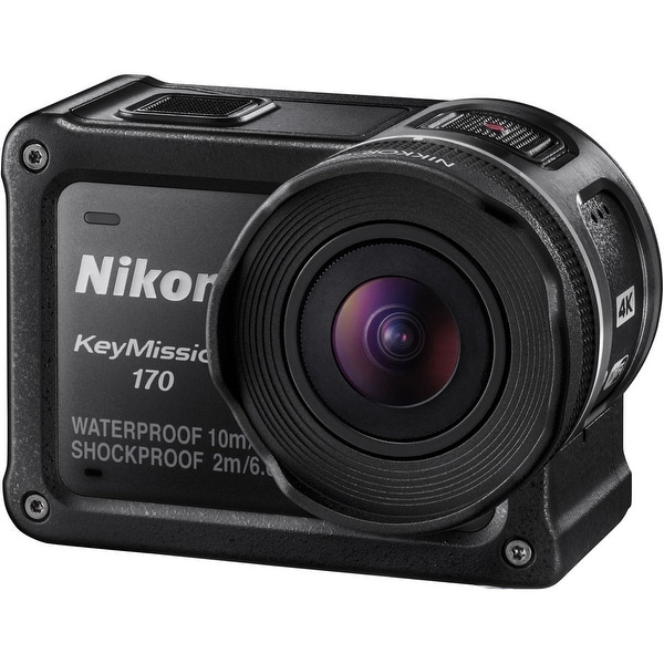 Nikon KeyMission 170 4K Action Camera (International Model)