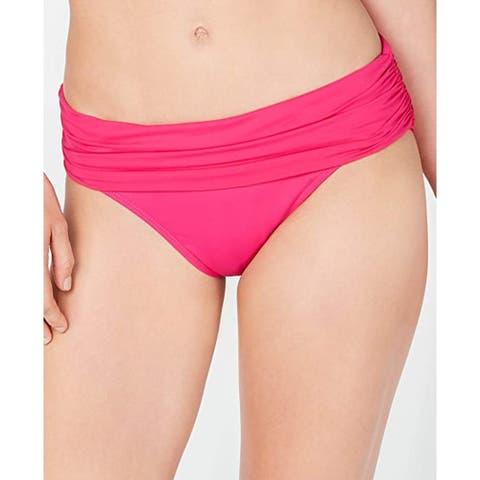 Ralph Lauren Beach Club Hipster Bikini Swim Bottoms, Orchid, 14