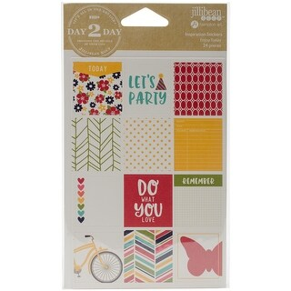 Day 2 Day Planner Block Inspiration Stickers-Enjoy Today