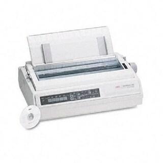 Okidata - Ml395 - Mono - Dot-Matrix Printer - 24-Pin Printerhead - Up To 610 Cps, Compatib