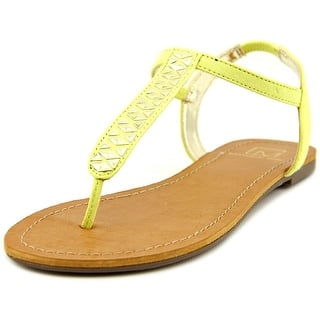 Material Girl Sage Women Open Toe Synthetic Yellow Thong Sandal|https://ak1.ostkcdn.com/images/products/is/images/direct/f1f4e0c29547b3c18ae8568129f359be74866371/Material-Girl-Sage-Women-Open-Toe-Synthetic-Yellow-Slingback-Sandal.jpg?impolicy=medium