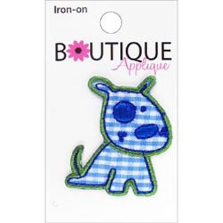 Blue Dog - Iron-On Appliques