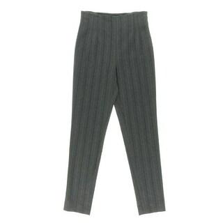 Catherine Malandrino Womens Wool Blend Skinny Leg Dress Pants - 4