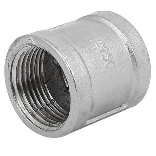 DN25 1BSP Female Thread Stainless Steel Connector Coupler Coupling Fitting