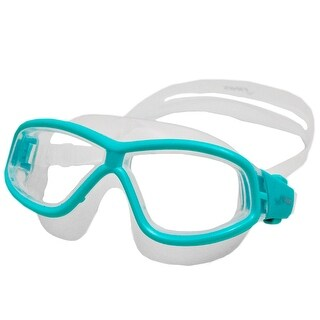 Finis Youth Explorer Secure Fit Goggles - Green/Clear