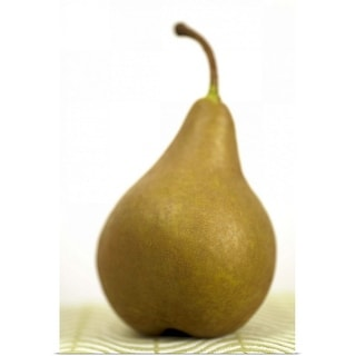 """Pear sitting on a mat"" Poster Print"