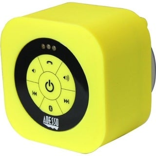 """Adesso XTREAMS1Y Adesso Xtream Xtream S1Y Speaker System - Wireless Speaker(s) - Yellow - 150 Hz - 20 kHz - 30 ft - Bluetooth -"