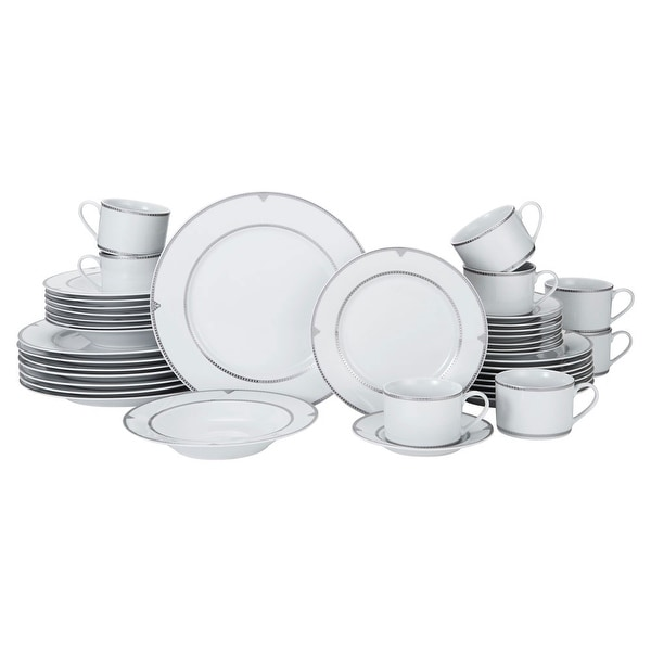 Mikasa Regent Bead 40 Piece Dinnerware Set (Service for 8)