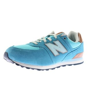 New Balance Girls Suede Youth Athletic Shoes - 6 wide (c,d,w)