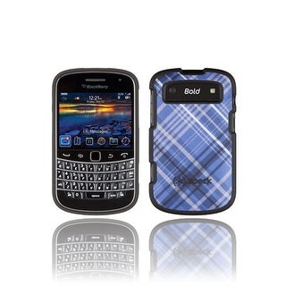 Speck Plaid Case for BlackBerry Bold 9900/9930 (Blue)