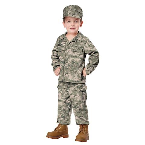 Toddler Soldier Halloween Costume