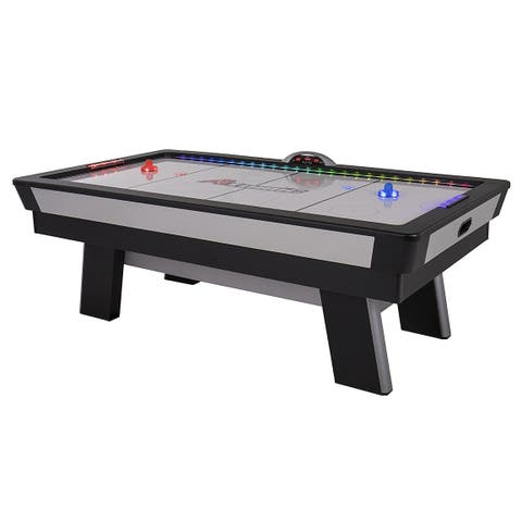 Atomic Top Shelf 7.5' Air Hockey Table with Arcade-Style Play / Model G04865W - Black