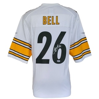 Le'Veon Bell Signed Pittsburgh Steelers White Nike Game Replica Jersey PSA