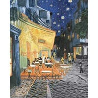 """Terrace At Night - Acrylic Paint Your Own Masterpiece Kit 11""""X14"""""""