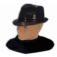 5862ce8b980 Shop Mobster Black Fedora Adult Costume Hat - Brown - Free Shipping ...