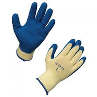 AMMEX K2000 Latex Dipped String Knit Work Gloves (Bag of 12 pairs)