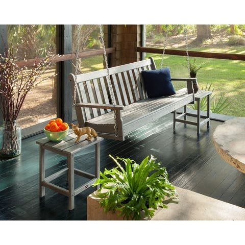 POLYWOOD Vineyard 60-inch Outdoor Swing