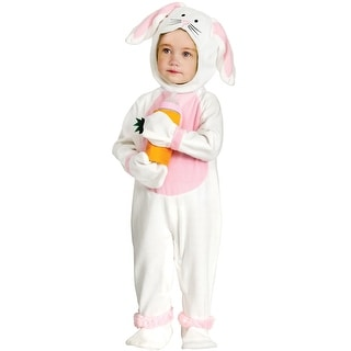 Fun World Happy Bunny Infant/Toddler Costume - White - small (6-12)
