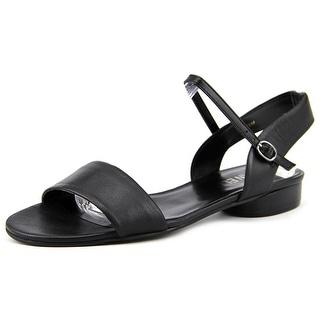Vaneli Berenice Open-Toe Leather Slingback Sandal